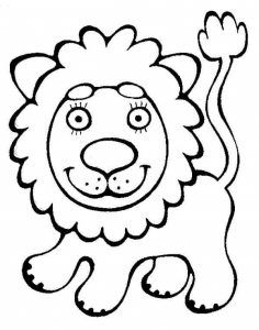 Aslan Boyama Hayvanlar Boyama Coloring Pages Coloring Pages For