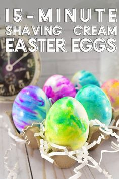 How to Make Shaving Cream Easter Eggs for Your Most Colorful Holiday Yet — This DIY tutorial is so easy, even your littlest ones can get in on the fun.