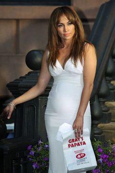 5a8f0633b18da Actress Jennifer Lopez films scene at 'The Backup Plan' movie set in the  West