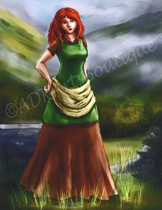 NEW!!!  By Katilee Turon  Digital Art Painting Art Digital Painting 8 1/2 by ADKArtsBoutique, $20.00