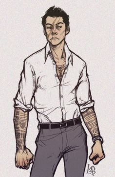 liabatman: TeenWolf AU I feel like this is what Stiles could look like if he mixed with Peter Fantasy Character Design, Character Design Inspiration, Character Concept, Character Art, Teen Wolf Fan Art, Sterek Fanart, Boy Art, Art Reference Poses, Fantasy Characters
