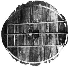 Image of a Viking flat circular shield Archaeological Gokstad find Norway. Oseberg, Norway, 834AD. Shield boards  [FOOTE and WILSON 1970:  Gokstad, Norway, 900AD. Shield boards  [NICOLAYSEN 1882] Trelleborg, Denmark. Shield boards [Kongens Borge] Tira, Latvia, C9th. Shield boards [BEATSON-a] Discussion Beason has discussed the use of the flat round shield. All are of planked construction. The Romans used plywood shields but no examples have been found since the C3rd. There is no evidence of…