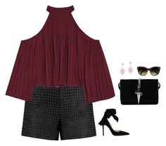 """""""#3723"""" by azaliyan ❤ liked on Polyvore featuring Alice + Olivia, W118 by Walter Baker, Gianvito Rossi, Cesare Paciotti, Anne Sisteron and Chloé"""