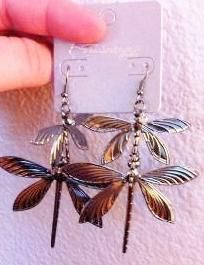 Drangonfly Earrings Brand New