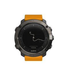 Suunto Traverse Amber - GPS outdoor watch with versatile navigation functions for hiking and trekking Sport Watches, Watches For Men, Wrist Watches, Gps Watches, Popular Watches, Wearable Technology, Gps Navigation, Fitness Tracker, Smartwatch