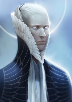 Manwë (Good, Pure). The noblest of the Ainur and the mightiest of the Aratar, brother of Melkor, spouse of Varda. Dearest to Iluvatar and understands his will and thought best. Compassionate and wise, but he doesn't understand evil, and so he was deceived into unchaining Melkor.