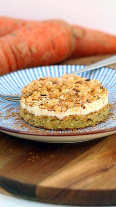 moehrenkuchen ohne zucker Rezept #möhrenkuchen #cleaneating