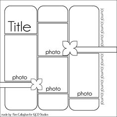scrapbook layout scrapbook layout Ideas for Scrapbookers: Versatile Sketch and Layout sketches Scrapbook Layout Sketches, Scrapbook Templates, Scrapbook Designs, Card Sketches, Scrapbook Paper Crafts, Scrapbooking Layouts, Scrapbook Cards, Paper Crafting, Scrapbook Photos
