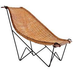 """John Risley Rattan """"Duyan"""" Lounge Chair 