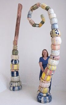 Wow!! Inspiration for a garden sculpture: Sandy Brown Ceramics