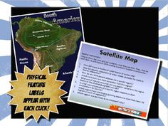This geography introduction is simple, but FANTASTIC! The satellite picture tells the story behind geography better with a realistic, clear picture. As you click, different geographical features labels appear on the map.The lesson includes teacher suggestions with possible questions so pose and a PowerPoint map.This activity pairs perfectly with the Where in the World Geography lesson map and scavenger hunt activity also posted on our store.**Buy IN BULK AND SAVE!