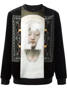 GIVENCHY - madonna print sweater