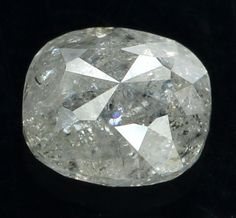 1.21 Ct Natural Loose Diamond Oval Shape White Grey Color 6.40X5.60X3.60 MM L9211