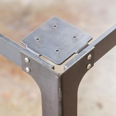 Kindred Series Bar Table Legs - Bold MFG's Kindred Table Base Series allows you to easily configure your own custom steel table base to use with any table top y