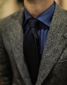 Gentleman Style Sharp Dressed Man, Dressed To Kill, Well Dressed Men, Mode Costume, Gents Fashion, Work Fashion, Fashion Men, Fashion Ideas, Knit Tie
