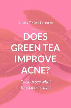 Is green tea really that good for acne? There are a lot of beauty DIY recipes and hacks involving green tea in the beauty world, but do they really wo Homemade Skin Care, Diy Skin Care, Skin Care Tips, Natural Face, Natural Skin Care, Natural Beauty, Beauty Hacks For Teens, Avocado Face Mask, Acne Causes