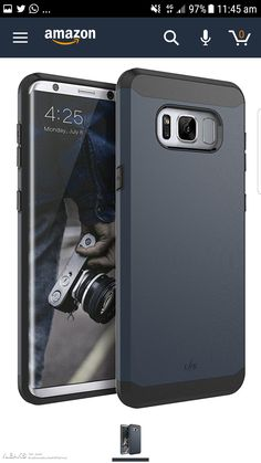 Leaked Case Images Show The Galaxy S8's Slim Bezel Screen #Android #news #Google #Smartphones