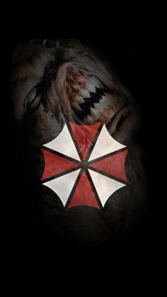 Resident Evil, Umbrella Corporation, Paris Saint, Saint Germain, Drawing Ideas, Cool Pictures, Drawings, Painting, Games