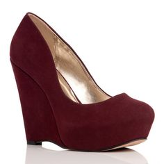 Ciji wedges.  #RED!!!!!!! Want it!!!!
