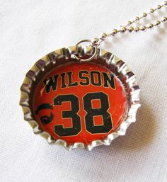 Bottlecap Pendant MLB SF Giants Brian Wilson The by Sew4Munchkins