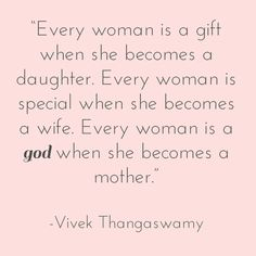 Every woman is a god when she becomes a mother | Smart Sexy Birth Blog | #birthquotes