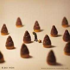 Bamboo shoot http://miniature-calendar.com/130520/