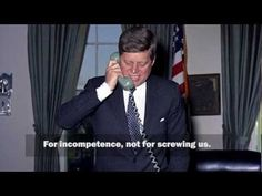 ▶ JFK Phone Call - More of JFK Cursing on the Phone - YouTube