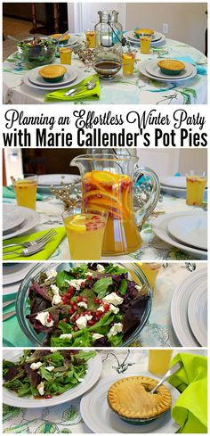 Planning an Effortless Winter Party with Marie Callender's Pot Pies - ThisSillyGirlslife.com #WarmthInACrust #Ad