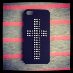 Cross iPhone Case Bling iPhone Case Crystal iPhone 5 by foressti, $10.00