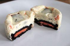 Halloween Oreo Cheesecake Cupcakes