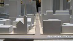 La ville de Chicago reconstituée en impression 3D #3Dprinting