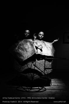 Art by Tadeusz Kantor @ Cricoteka #krakow #cricoteka #theater - Photo (2014) by Vasilis D.