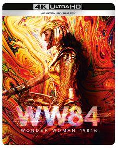 Wonder Woman 1984 (hmv Exclusive) 4K Ultra HD Steelbook | 4K Ultra HD Blu-ray | Free shipping over £20 | HMV Store Smallville, Hd Movies Online, New Movies, Wonder Woman, Super Heroine, 1984 Movie, Cinema, Gal Gadot, Streaming Movies