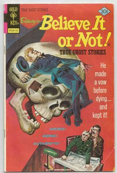 Ripley's Believe it or Not True Ghost by AntiqueAlchemyShop