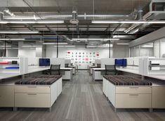 Love the way the desks are set up!   Herman Miller Canvas workstations Inside Adobe's New Utah Campus