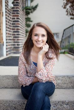 Alyssa: Senior Portrait | Katie Perkes Photography