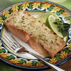 Magically Moist Adobo Salmon Recipe on Yummly. @yummly #recipe