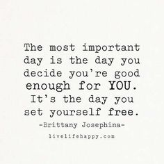 The Most Important Day Is the Day