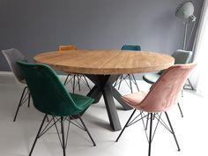 Dining Room Design, Dining Room Furniture, Home Furniture, Dining Chairs, Apartment Furniture, Modern Dining Table, Round Dining Table, Home Decor Bedroom, Living Room Decor