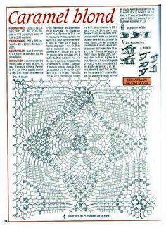 GREGOBLEN: Croche TELHA (Diagramas)