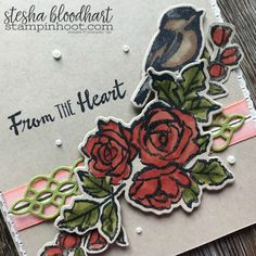 Petal Palette Bundle from the 2018 Occasions Catalog Sneak Peek. Sympathy Card Created by Stesha Bloodhart, Stampin' Hoot! See details at stampinhoot.com #steshabloodhart #stampinhoot #petalpalette