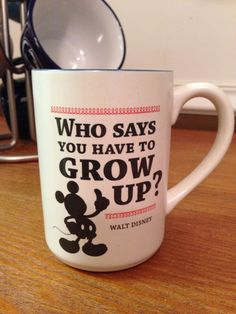 I love hallmark Disney mugs!