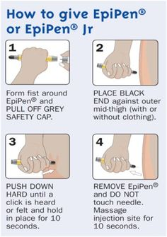 Just in case. How to give EpiPen/ Most popular adrenalin shot for severe bee/food allergies Tree Nut Allergy, Egg Allergy, Allergy Asthma, Peanut Allergy, School Nurse Office, School Nursing, Bee Food, Allergies Alimentaires, Nut Allergies