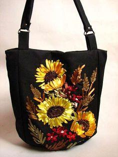сумки вышитые лентами фото - Поиск в Google