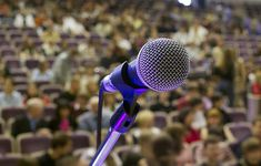 5 Steps to Conquering Public-Speaking Anxiety - see numbered tips at the end