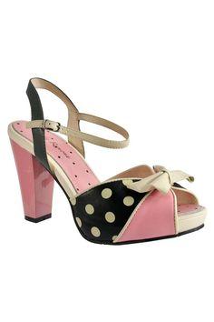 Angie Pink Peep Toe