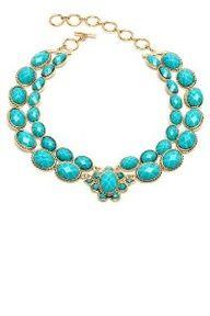 Amrita Singh Bridgehampton Turquoise Double Strands Necklace