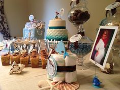 Trendy Fun Party  Under the Sea Baby Shower https://www.trendyfunparty.com