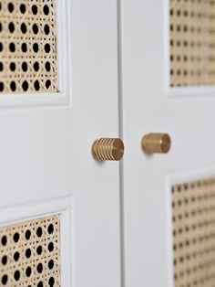 Rattan Cane IKEA Wardrobe DIY Hack For Under £170 | Lust Living