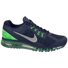 Nike Air Max + 2013 - Men's - Blackened Blue/Reflect Silver/Poison Green